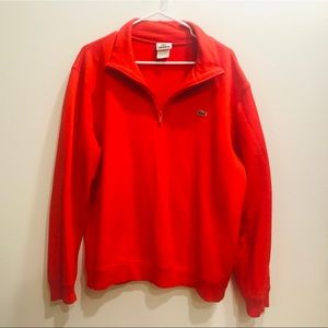 Lacoste Red Pullover